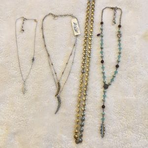 Lucky Brand necklace lot